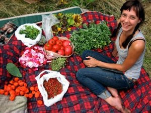 Emily Porter with Bountiful Harvest