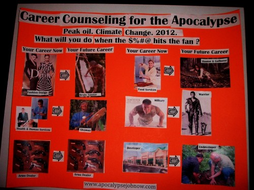 Career Counseling for the Apocalypse